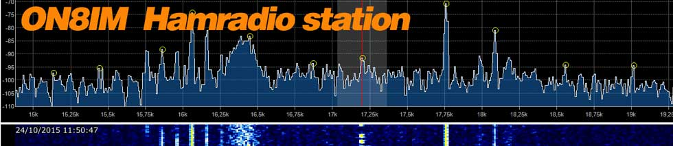 Radioamateur station ON8IM