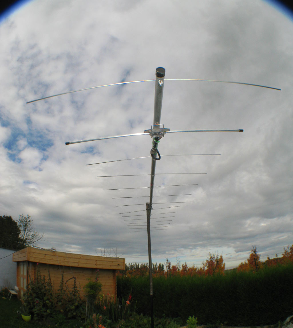 Photo de l'antenne après restauration